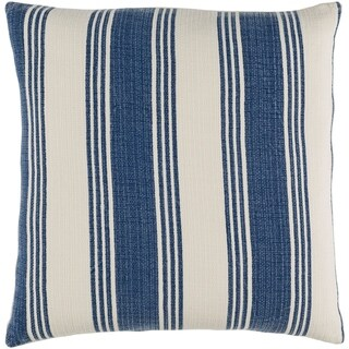 Decorative Cristopher Navy 20-inch Throw Pillow Cover