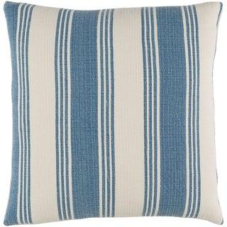 Decorative Cristopher Denim 18-inch Throw Pillow Cover