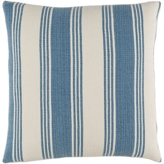 Decorative Cristopher Denim 20-inch Throw Pillow Cover