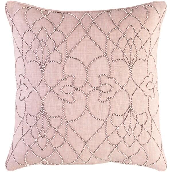 Shop Decorative Feng Mauve 40inch Throw Pillow Cover On Sale Enchanting Mauve Decorative Pillows