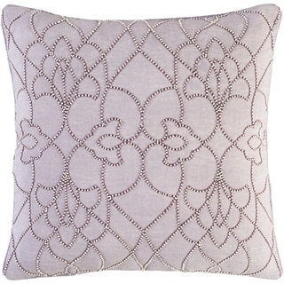 Decorative Feng Lilac 20-inch Throw Pillow Cover