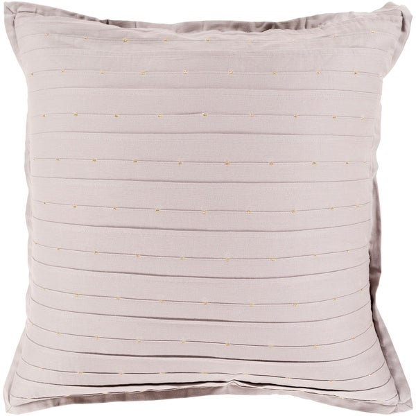 Khamisi Modern Taupe Throw Pillow Cover 20 inch