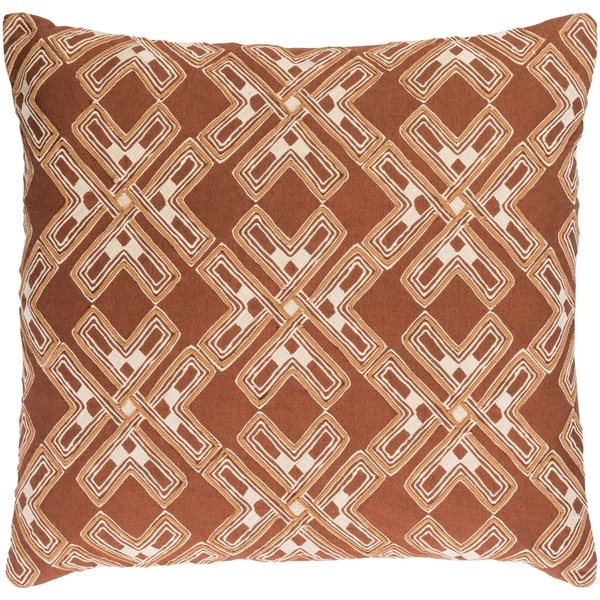 Decorative Lauren Camel 22-inch Throw Pillow Cover