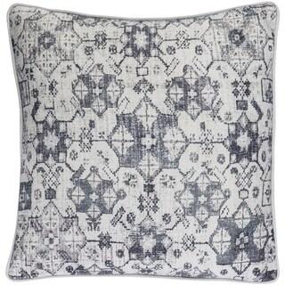 Decorative LasVegas Grey 22-inch Throw Pillow Cover