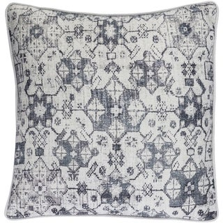 Decorative LasVegas Grey 20-inch Throw Pillow Cover