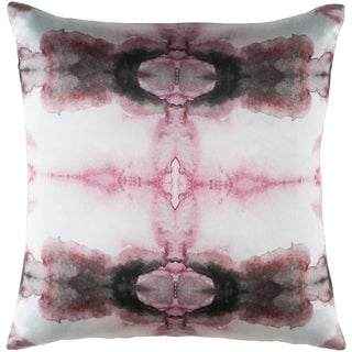 Decorative Qaui Pink 20-inch Throw Pillow Cover