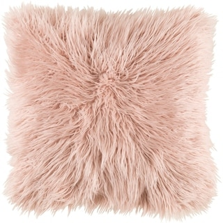 Decorative Pearland Bright Pink 22-Inch Throw Pillow Cover