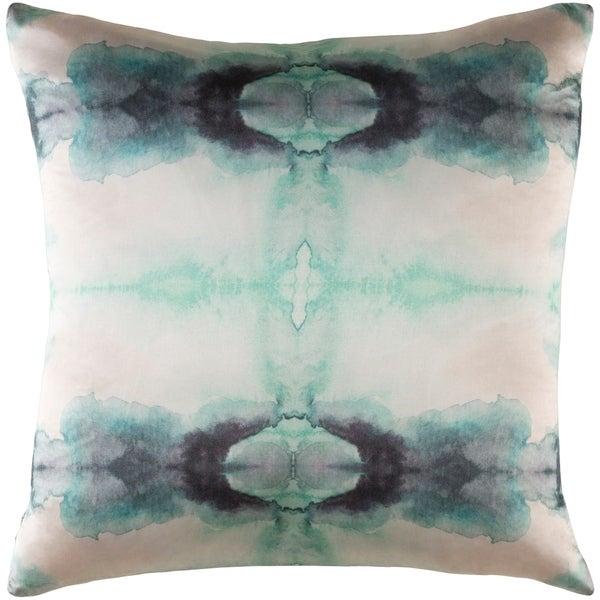 Decorative Qaui Light Grey 22-inch Throw Pillow Cover