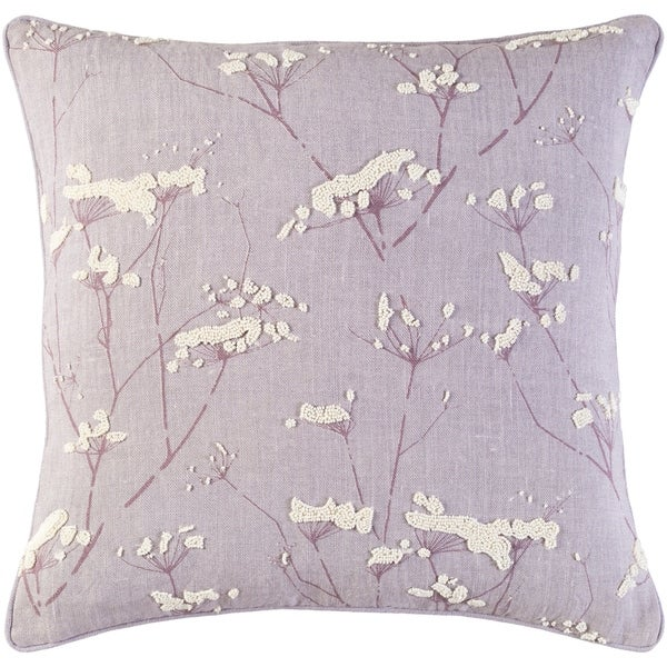 Shop Decorative Pipa Purple 20 Inch Throw Pillow Cover Free