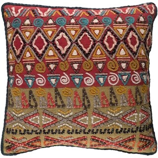 Decorative Ringwood Multi 20-inch Throw Pillow Cover