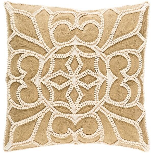 Decorative Soham Camel 20-inch Throw Pillow Cover