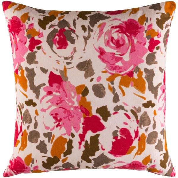 Decorative Sain Blush 20-inch Throw Pillow Cover