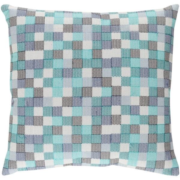 Decorative Snoopy Teal Blue 18-inch Throw Pillow Cover