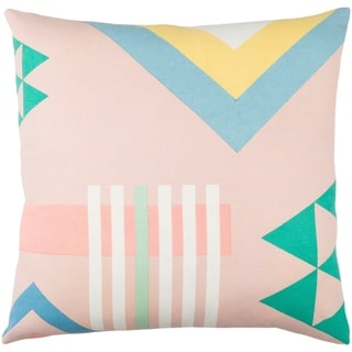 Decorative Wallingford Light Pink 20-inch Throw Pillow Cover