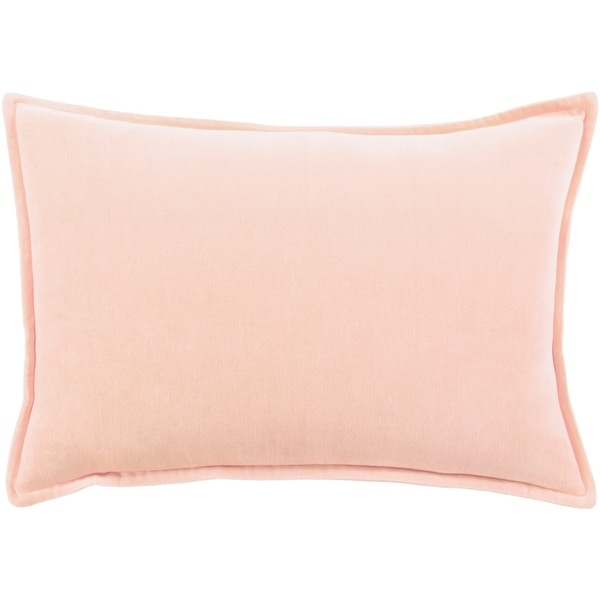"Vianne Solid Peach Pillow Cover - (13"" x 19"")"