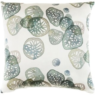 Decorative Stotfold Green Throw Pillow Cover (20 x 20)