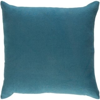 Decorative Villa Teal Blue 18-inch Throw Pillow Cover