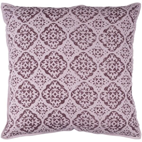 Shop Decorative Villeurbanne Mauve 40inch Throw Pillow Cover Free Gorgeous Mauve Decorative Pillows