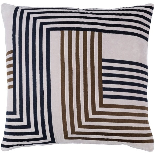 Decorative WestHam Navy 18-inch Throw Pillow Cover