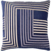 Decorative WestHam Beige 18-inch Throw Pillow Cover