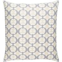 Decorative Westbury White 20-inch Throw Pillow Cover