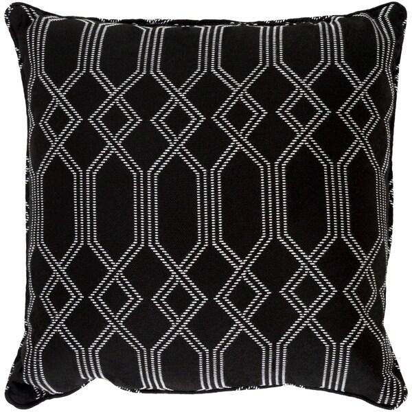 Shop Barcelona Black Indoor Outdoor Throw Pillow 20 X 20 Free