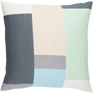 Decorative Ware Grey 18-inch Throw Pillow Cover