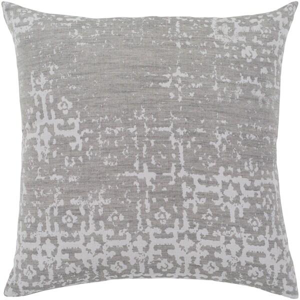 Shop Leopold Grey White Throw Pillow Cover 20 X 20 Free