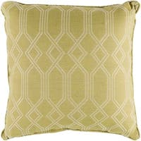 "Barcelona Lime Indoor/ Outdoor Throw Pillow (20"" x 20"")"