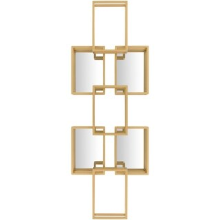 Brayden Gold Geometric Wall Mirror