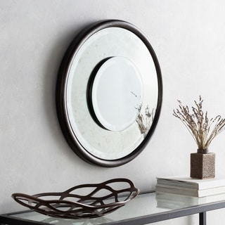 Shop Luminary 34 Inch Sun Ray Antique Silver Wall Mirror