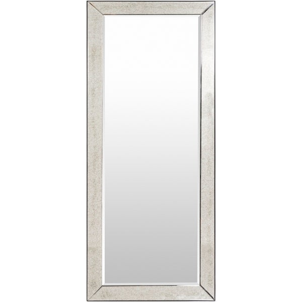 72 inch wall mirror wall mount gael traditional beveled 72inch wall mirror antique silver shop