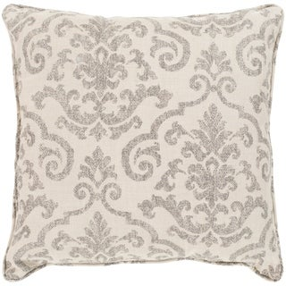 "Leia Taupe Indoor/ Outdoor Throw Pillow (20"" x 20"")"