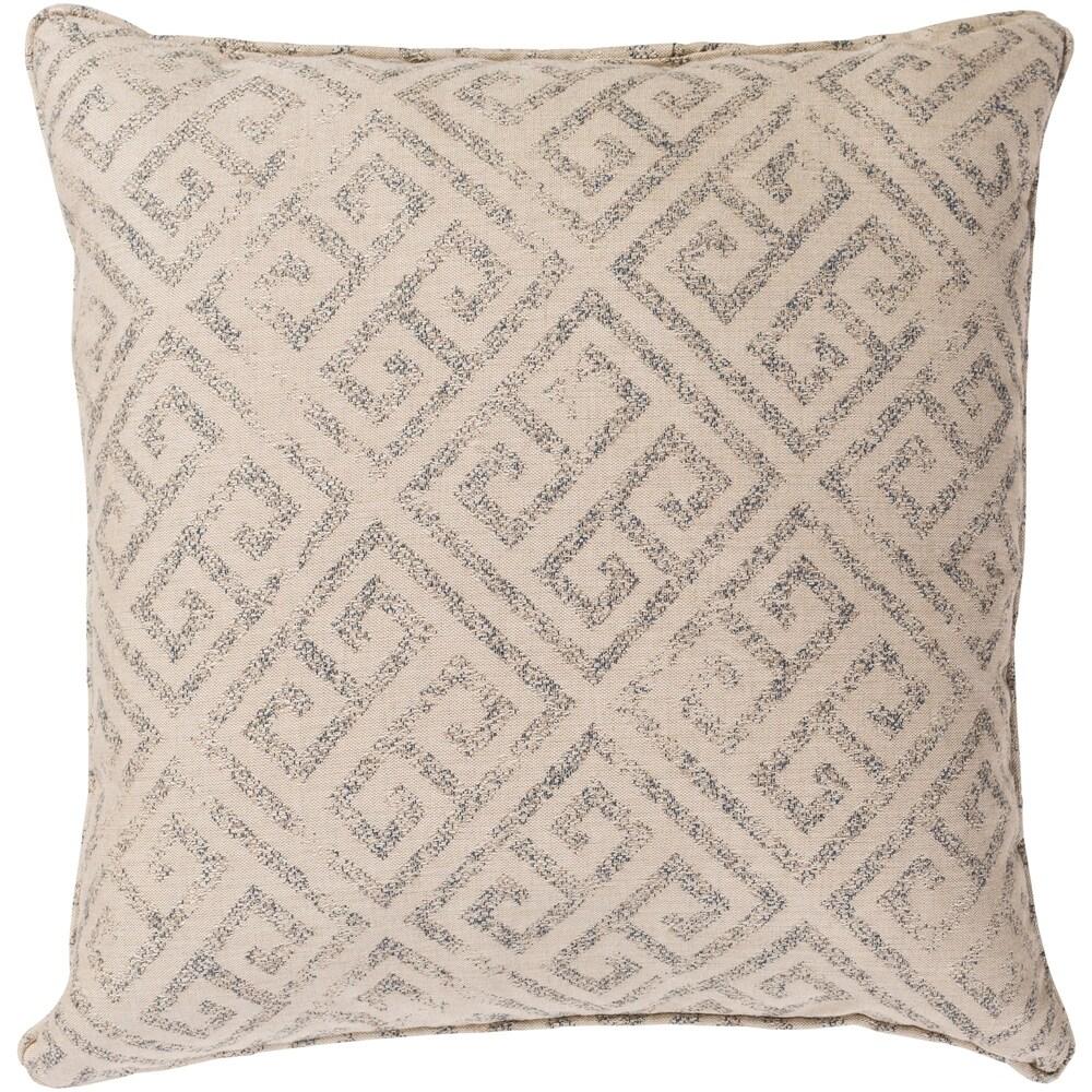 Black Key Indoor Outdoor Throw Pillow