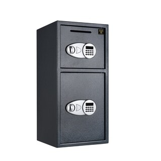 Digital Safe-2 Safes in 1-Double Doors For Home or Business by Paragon