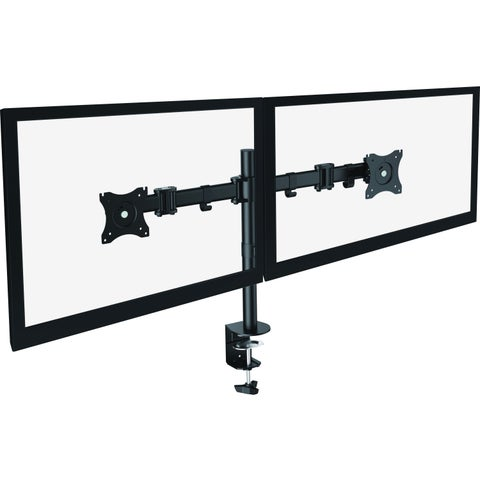 "Lorell Mounting Arm for Monitor - 27"" Screen Support - Black"