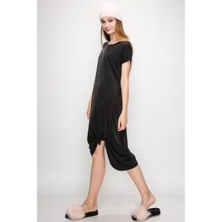 Olivia Pratt Midi Shirt Dress