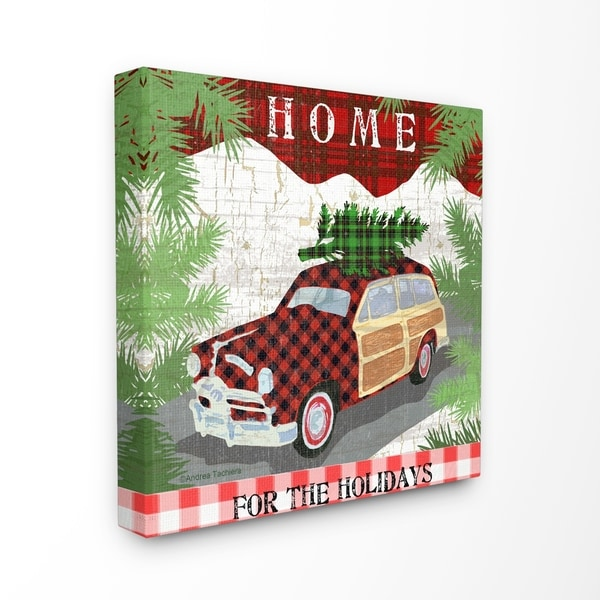 Shop The Stupell Home Decor Collection Home For The Holidays Station