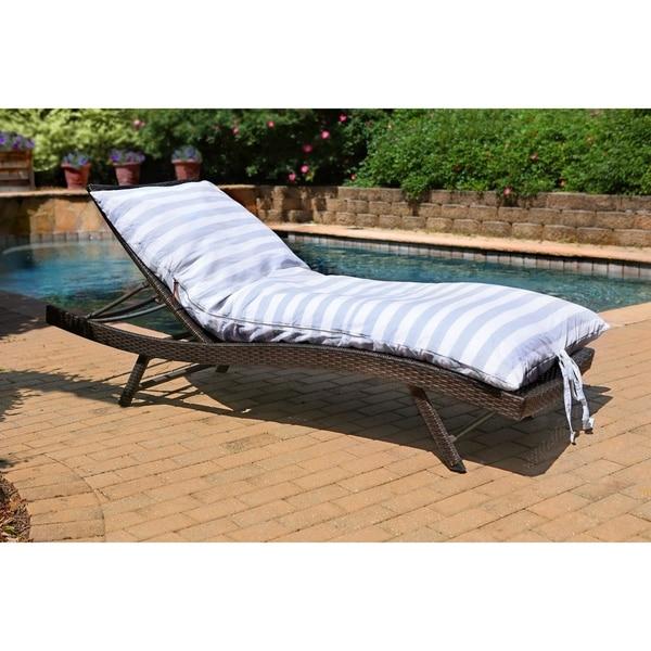 Cabana Stripe Crash Pad, a throw bed