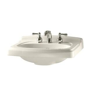 "American Standard Portsmouth 10"" Pedestal Sink Basin White"