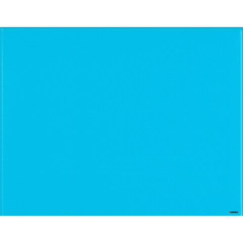 Lorell Magnetic Glass Color Dry Erase Board - 4 ft W x 3 ft H
