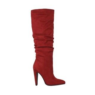 YOKI-CALYSTA-10 Knee High Boots