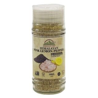 Himalayan Chef Lemon Pepper Seasoning Pink Salt & Shaker, 2.75 Oz