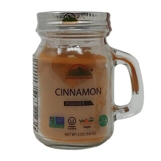 Himalayan Chef Small Mason Jar Cinnamon Powder, 1.80 Oz