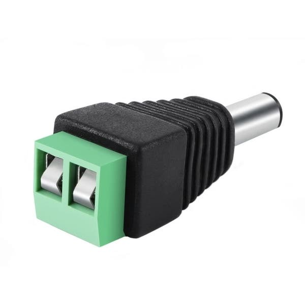 5Pairs Male Female 2.1x5.5mm DC Power Plug Jack Adapter Connector for CCTV