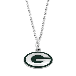 NFL Green Bay Packers Sports Team Logo Necklace Charm Pendant
