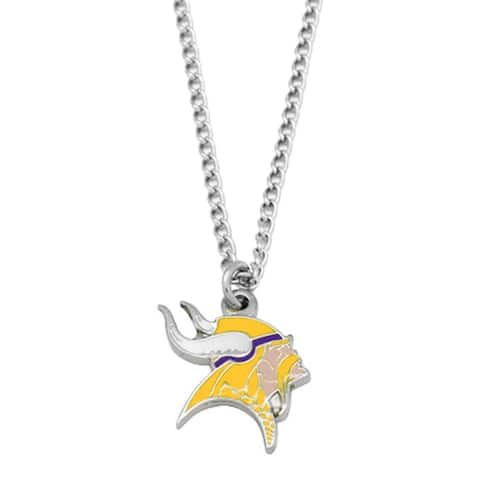 NFL Minnesota Vikings Sports Team Logo Necklace Charm Pendant