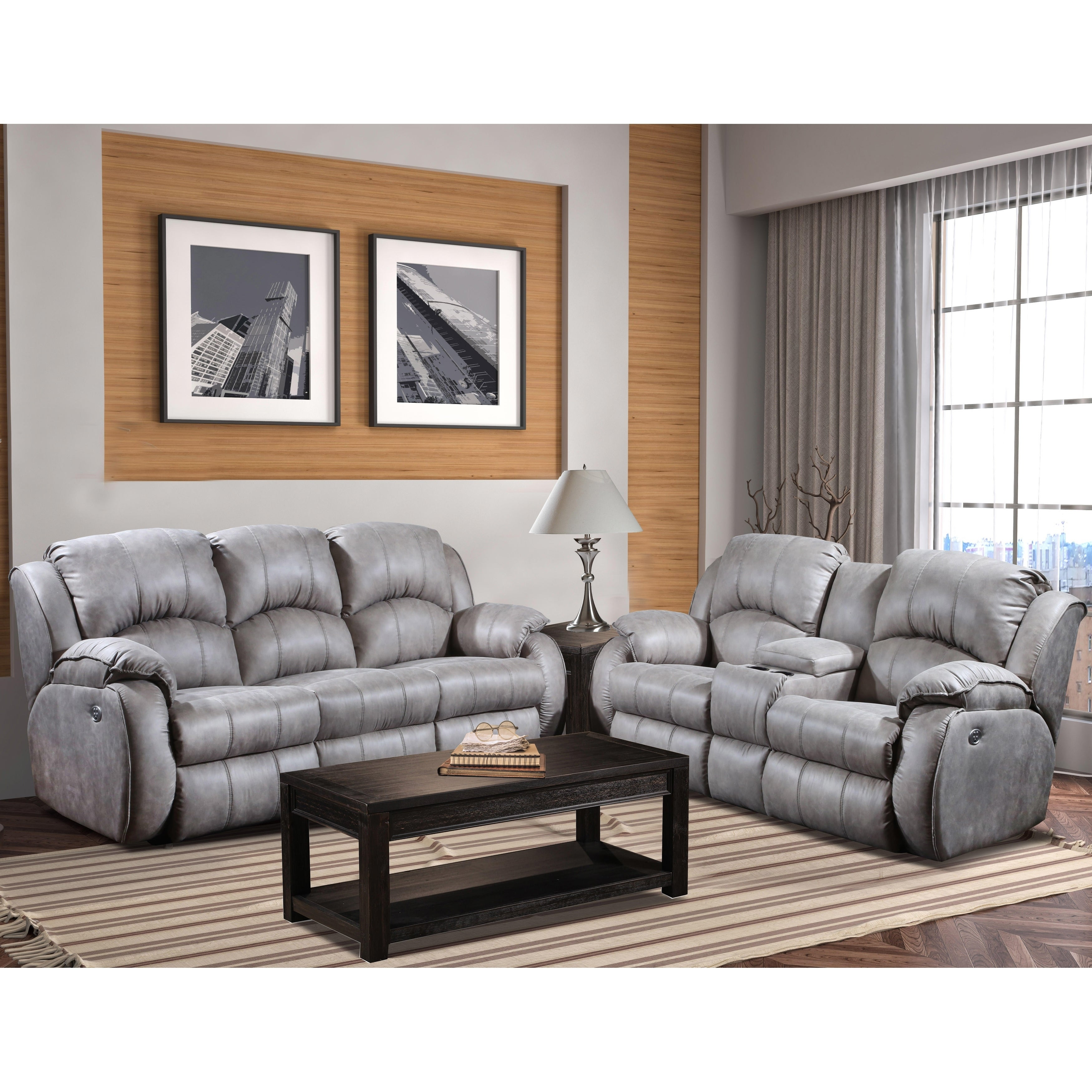 Amazing Southern Motions Cagney Power Headrest Double Reclining Sofa Download Free Architecture Designs Scobabritishbridgeorg