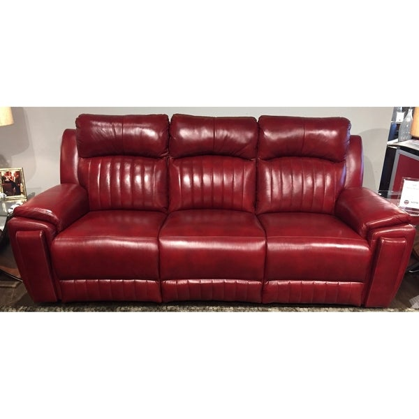 Shop Southern Motion Silver Screen Socozi Red Leather