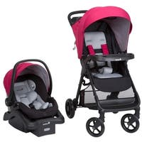Safety 1ˢᵗ Smooth Ride Travel System in Sangria